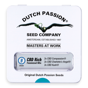CBD Rich Feminized Mix Dutch Passion Seeds