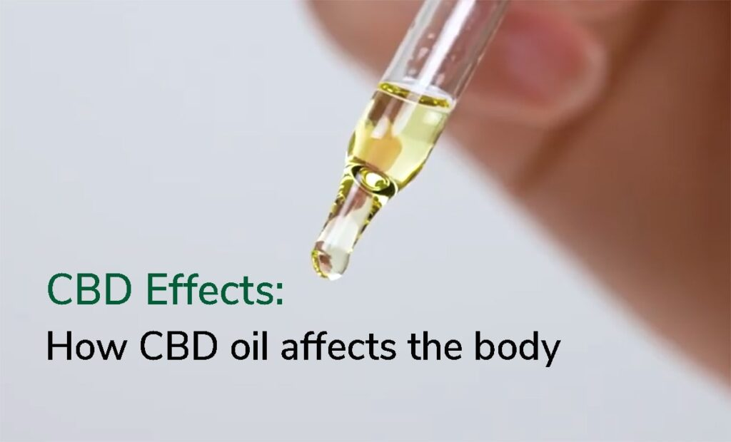 CBD Effects oil body