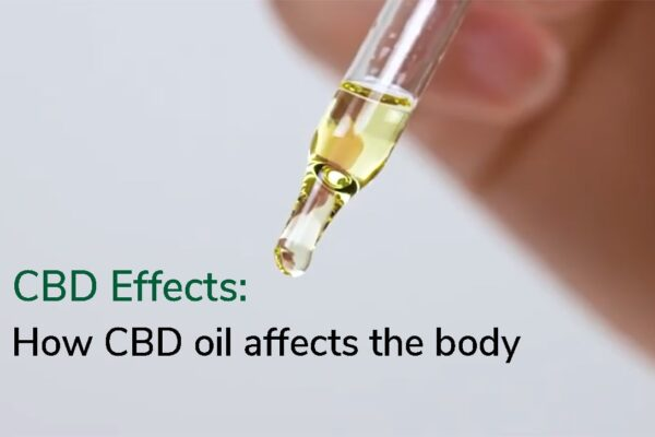 CBD Effects oil body