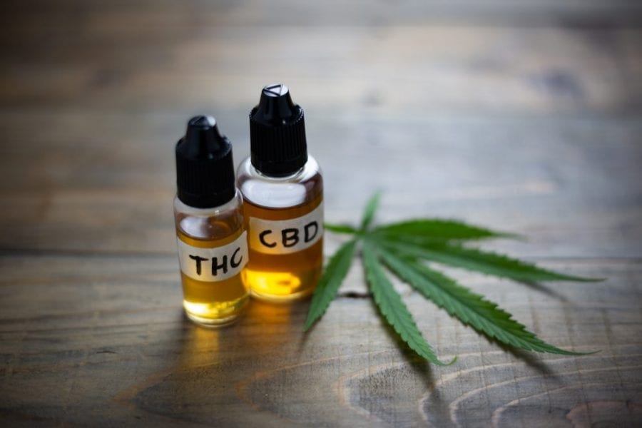 differences cbd thc